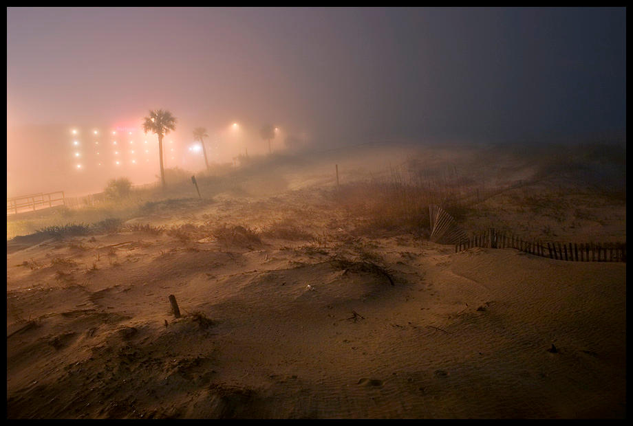 beach fog by maxpower