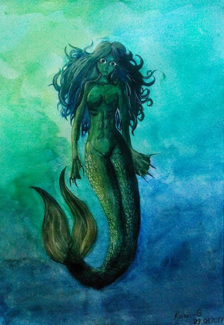 Mermaid by Kabbi-G