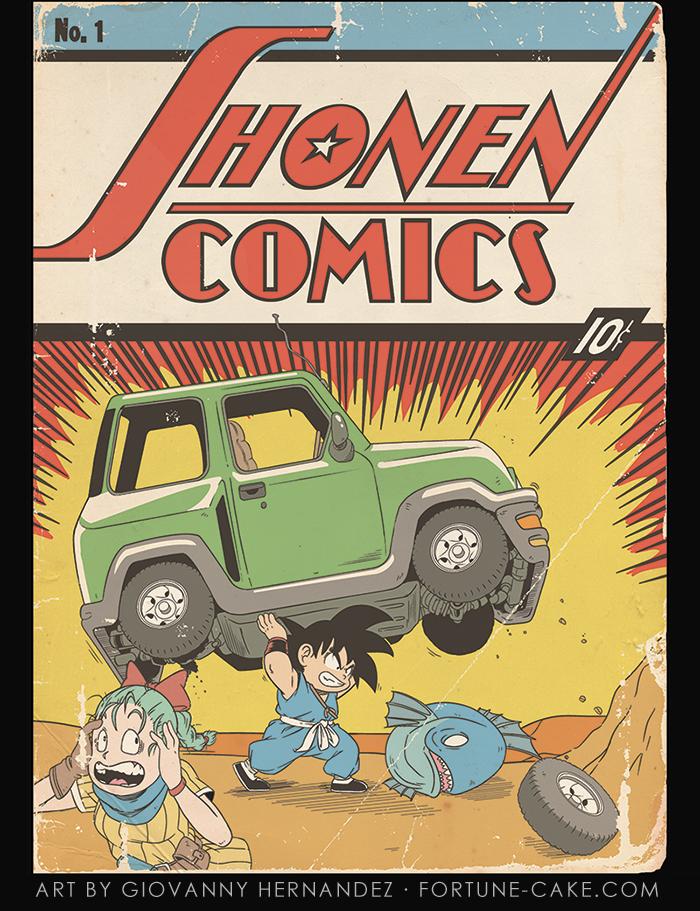 Shonen-Comics by g-o