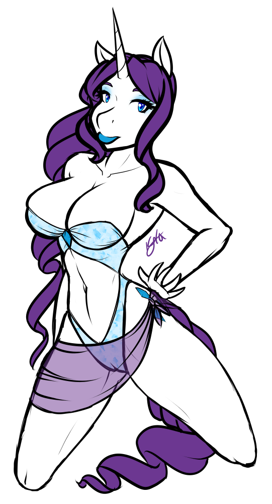 FA: Rarity by Celesaphii
