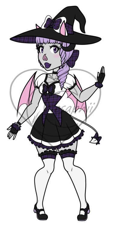 Batccubus Witch Adopt [Price Reduced] OPEN!