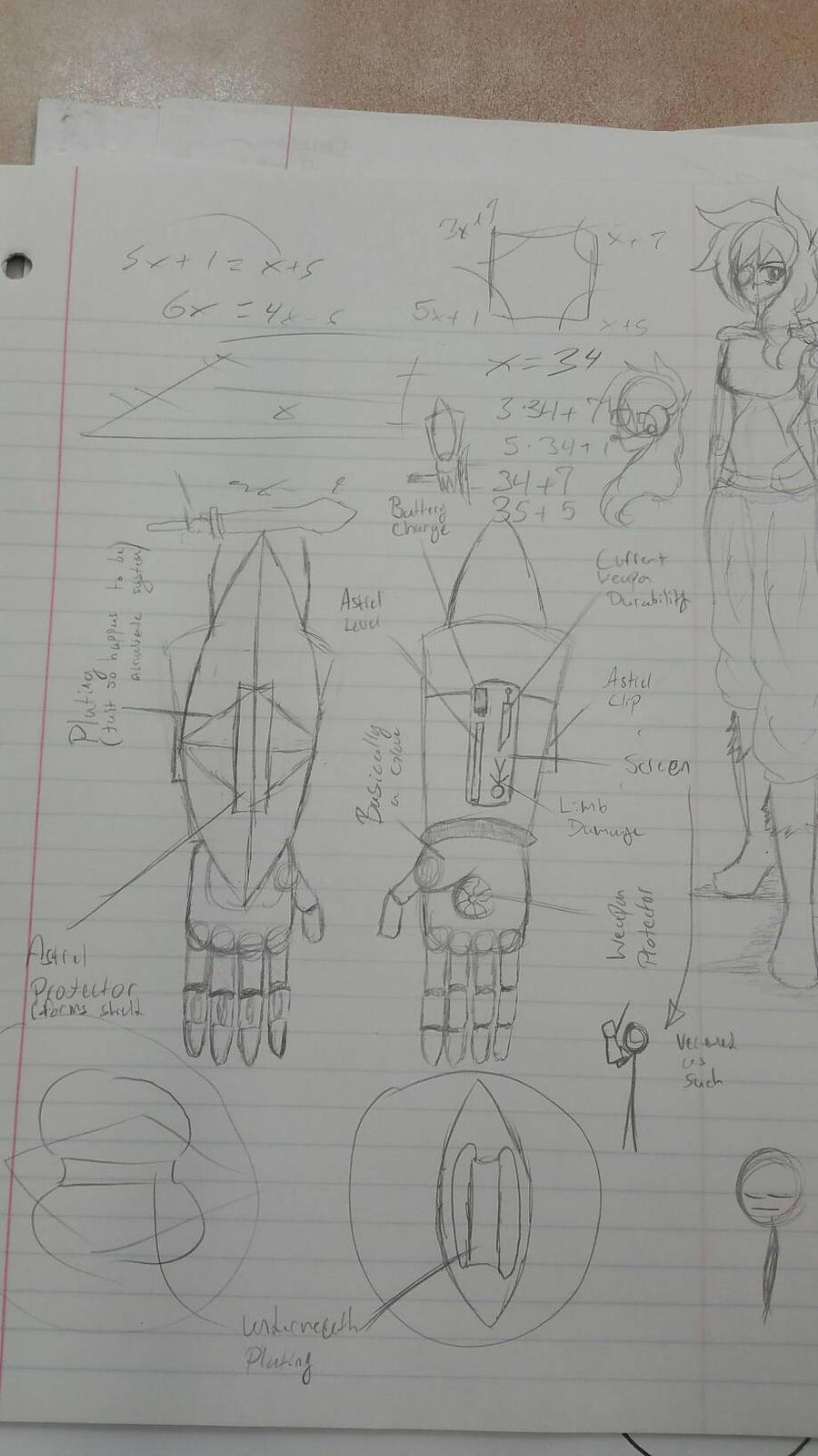 Schematics for Rabbit\'s power glove. by Rabbit297 on DeviantArt