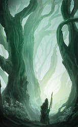 Forest Quick Sketch by RicoCilliers