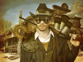 Cowboy Rob Steampunk by Rob-Hutch
