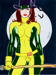 Rogue Halloween Dhm3 by cacarod2007