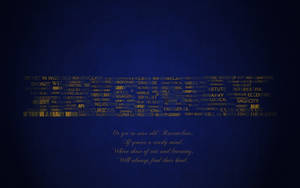 Ravenclaw Typography Wallpaper