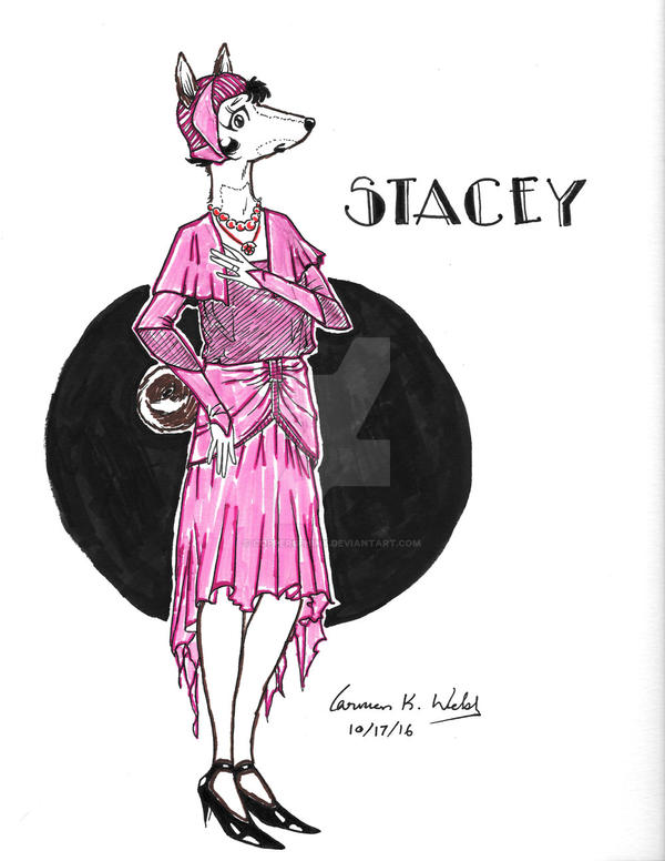 Stacey - Art Deco/Art Nouveau by CopperSphinx