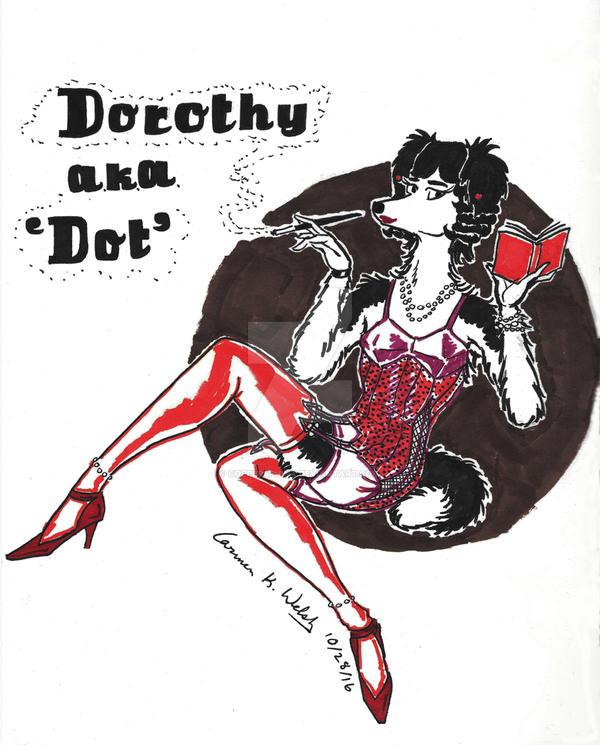 Dorothy - Art Deco/Art Nouveau by CopperSphinx