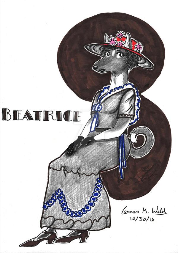 Beatrice - Art Deco/ Art Nouveau by CopperSphinx
