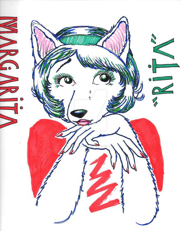 Margarita-art-nouveau-Print by CopperSphinx