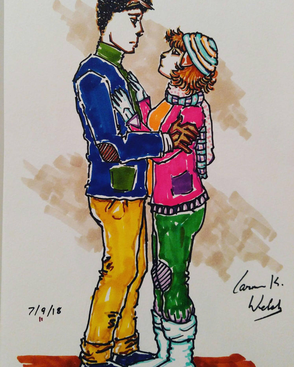 Yanina and Mr. Dunlop by CopperSphinx