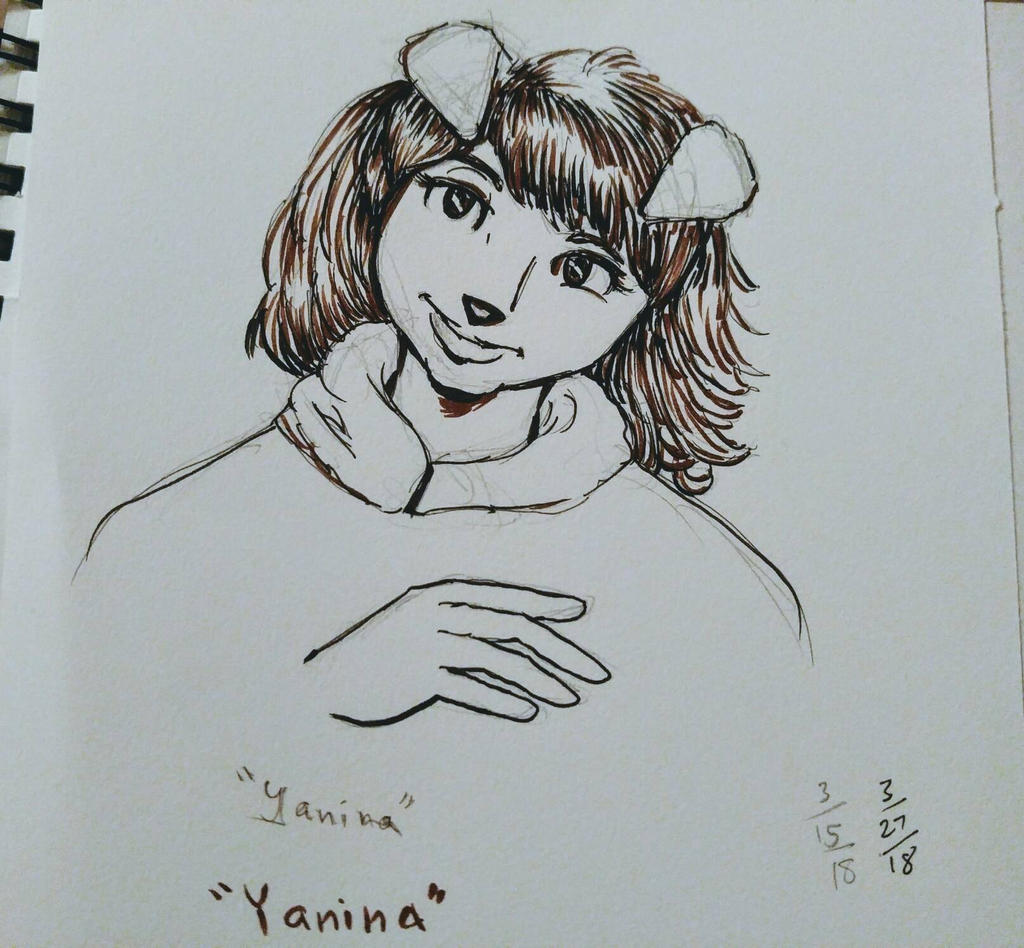 Yanina quick sketch by CopperSphinx