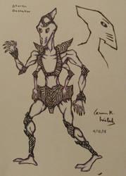 One gender from my alien species by CopperSphinx
