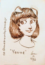 Yanina by CopperSphinx