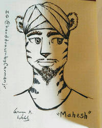 Mahesh by CopperSphinx