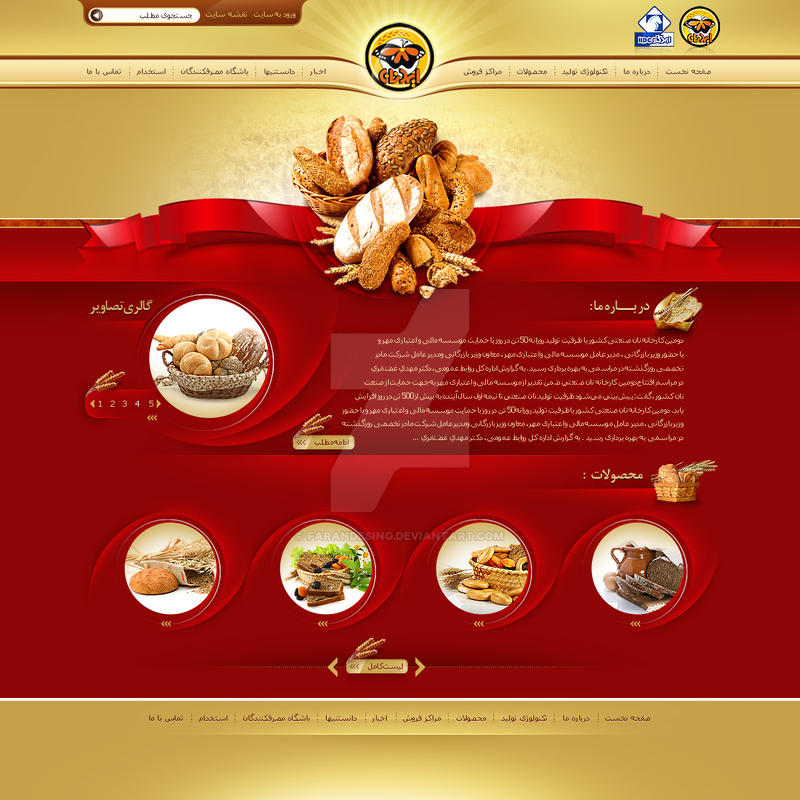 idnan website by farandesing