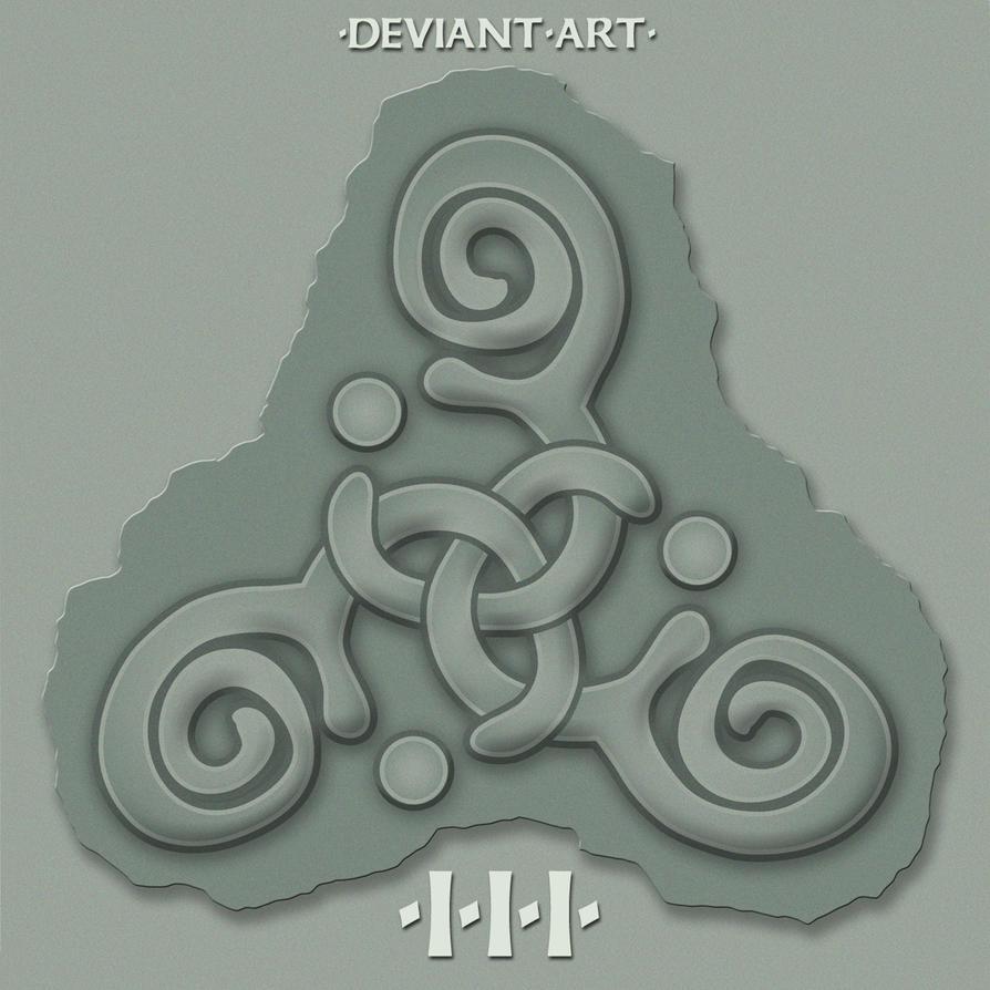 DA Triple Spiral by yankeedog