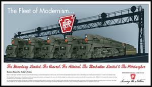 The Fleet of Modernism