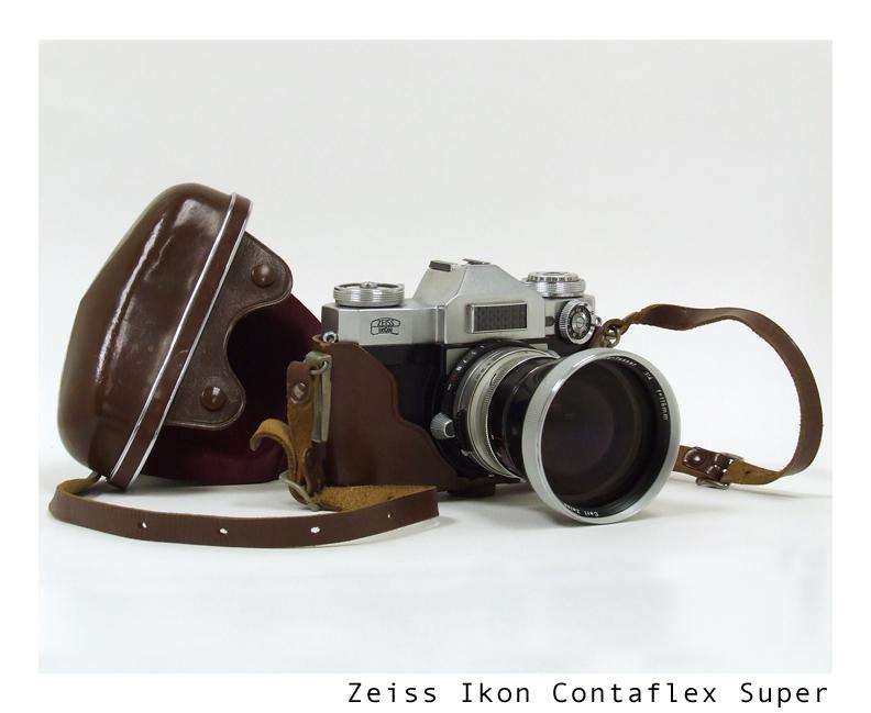 Zeiss Ikon Contaflex Super by yankeedog