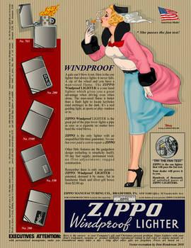Vintage Zippo Ad