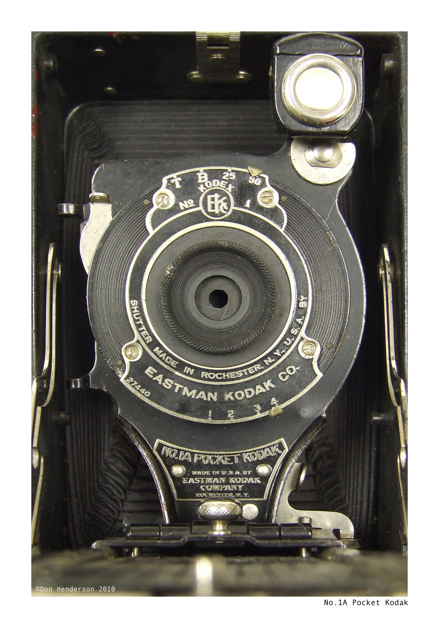 No. 1A Pocket Kodak by yankeedog