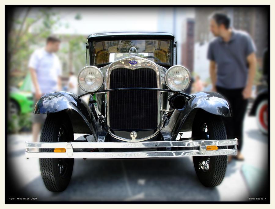 Ford Model A by yankeedog