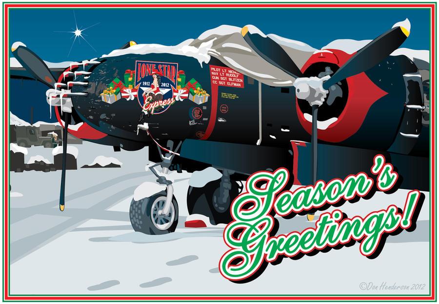 Season's Greeting by yankeedog