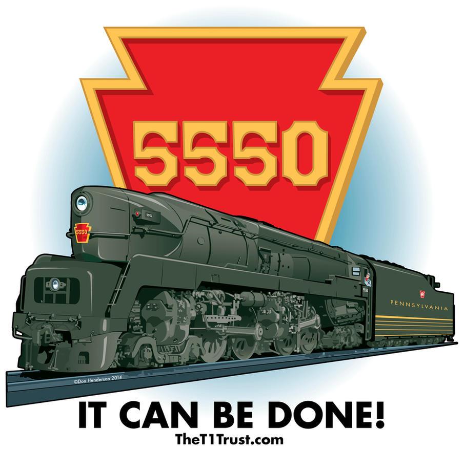 PRR T1 locomotive by yankeedog