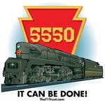 PRR T1 locomotive