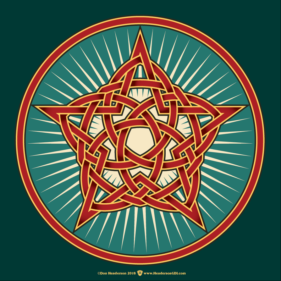 Celtic Star by yankeedog