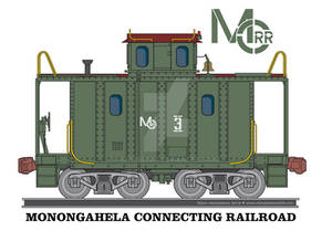 Monogahela Connecting Railroad Caboose 2019-06-14