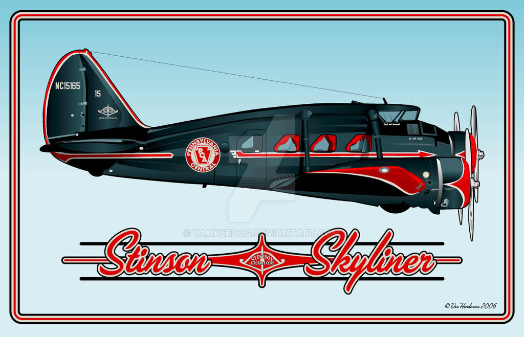 Stinson Skyliner By Yankeedog On Deviantart