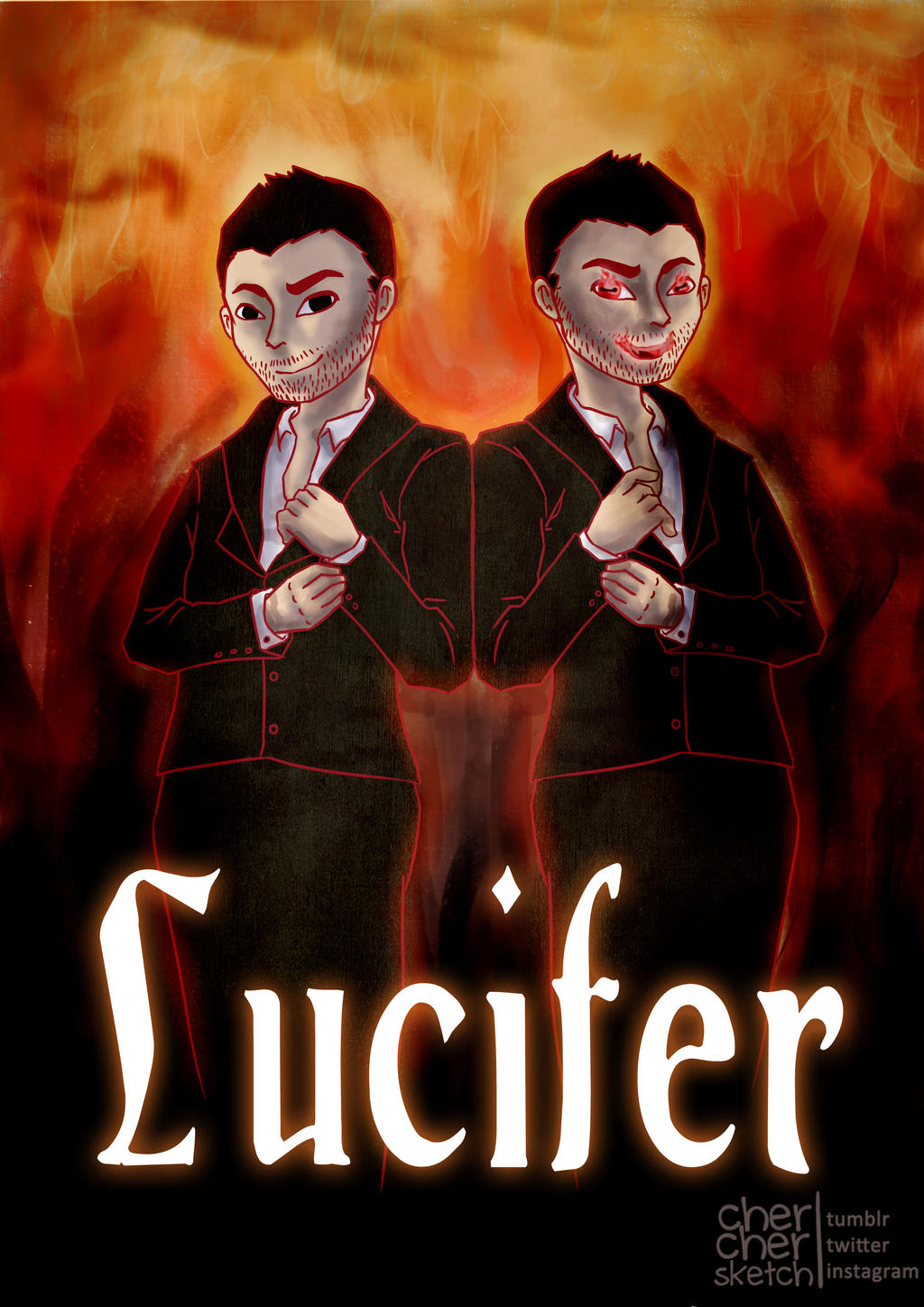 a review of the story of lucifer the prince of darkness