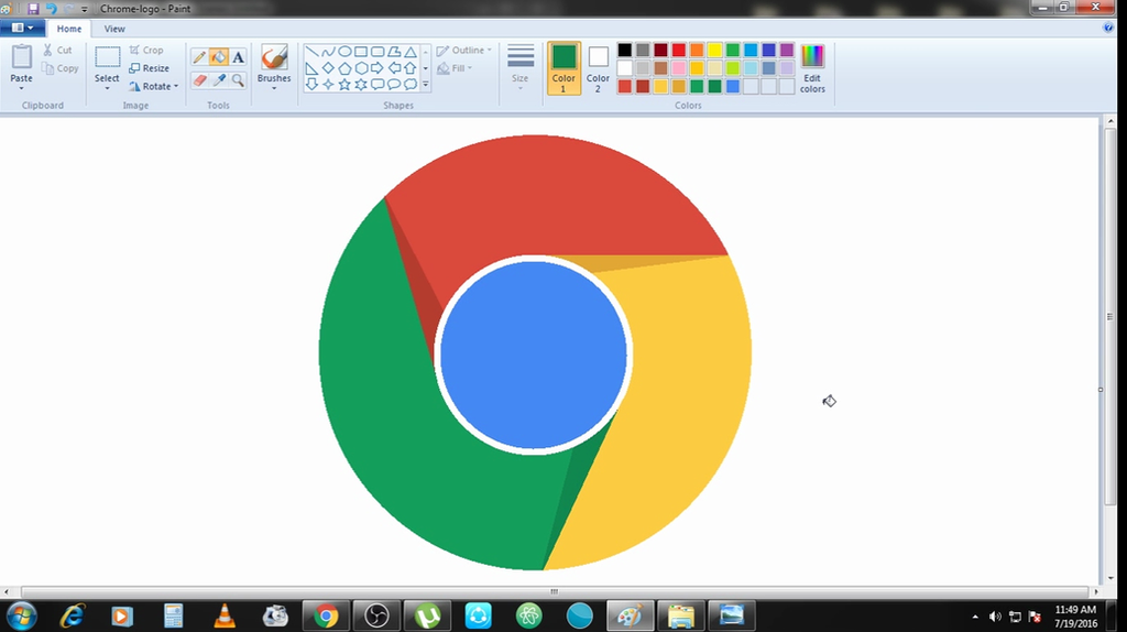 How To Change An Image Background In Ms Paint