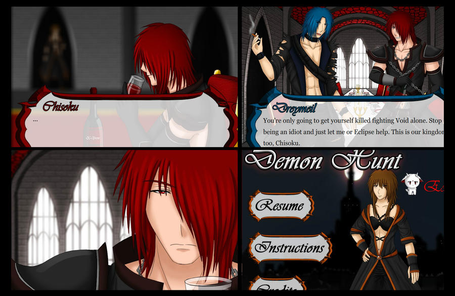 Demon Hunt Chapter 5 Screenshots [Spoiler Alerts] by Samuraiflame