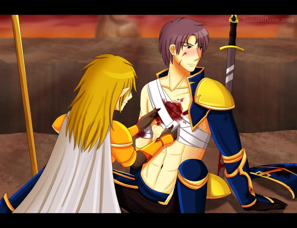 Alfeus, you idiot by Samuraiflame