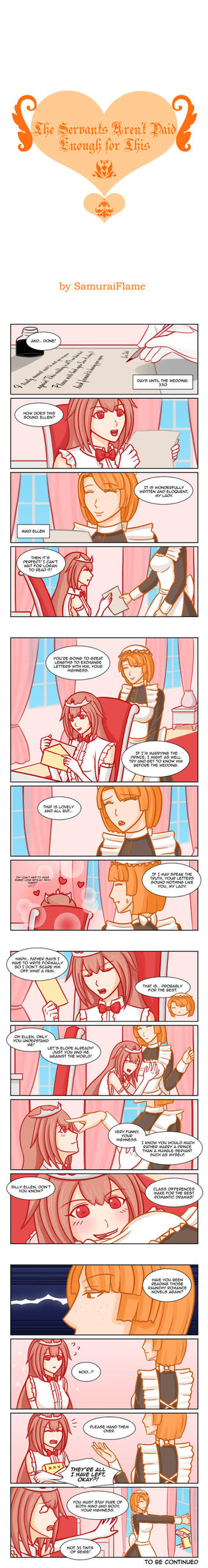 The Princess is a Total Deviant: CH 3 by Samuraiflame
