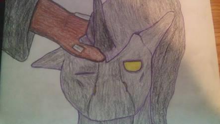 shadow pony counterpart by heathfiedler