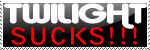 Twilight sucks stamp by MetalheadINC