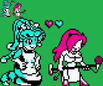 Azura and Ruby: NGPC Version