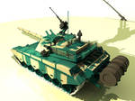 Chinese Type 99 tank backview
