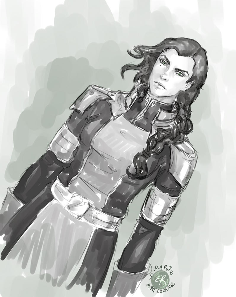 Kuvira -Legend of Korra by marieartcorner