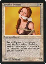 Magic Damsel by SeleenArt