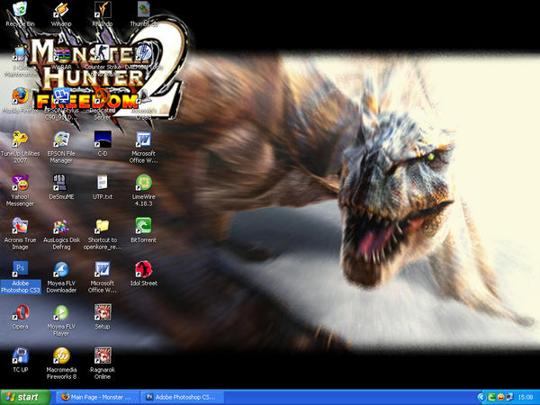 MH2 Desktop Screenshot by bake2x