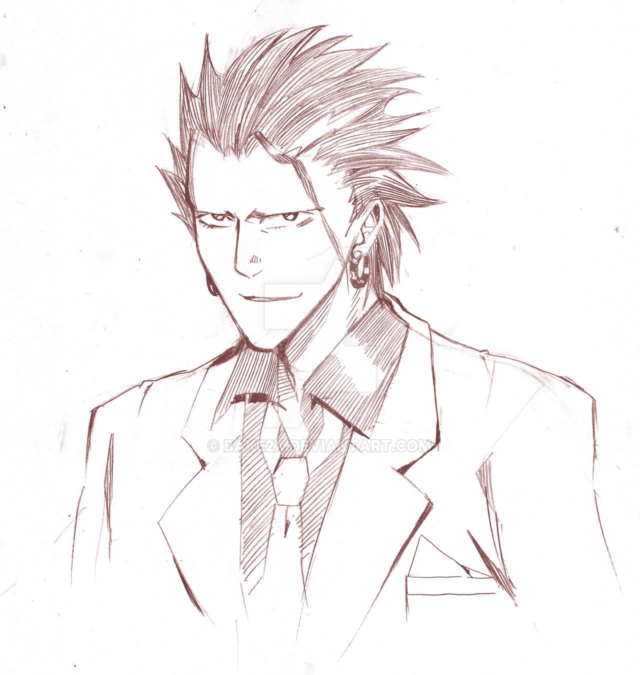 Eyeshield 21 Dinosaur: Marco Reiji Sketch By Bake2x On DeviantArt