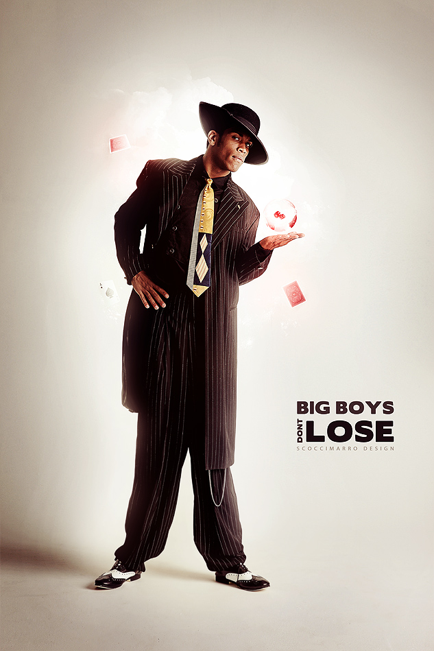 Big Boys Don't Lose by odindesign