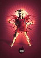 The Crimson Sorcerer by odindesign