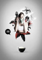 The Asian Explotion by odindesign