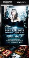 Burlesque Party Flyer Template