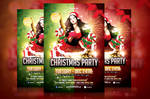 Christmas Party Flyer Template 02